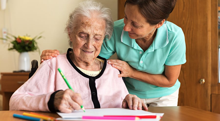 Peace of mind that your elderly home care will provide